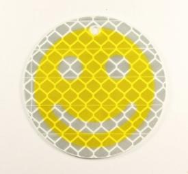 """Подвес световозвращающий """"Смайл"""" желтый"""