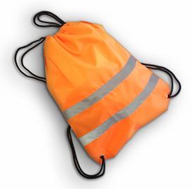 Мешок сигнальный для обуви, оранжевый