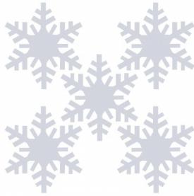 """Набор термоаппликаций световозвращающих """"Зима"""""""